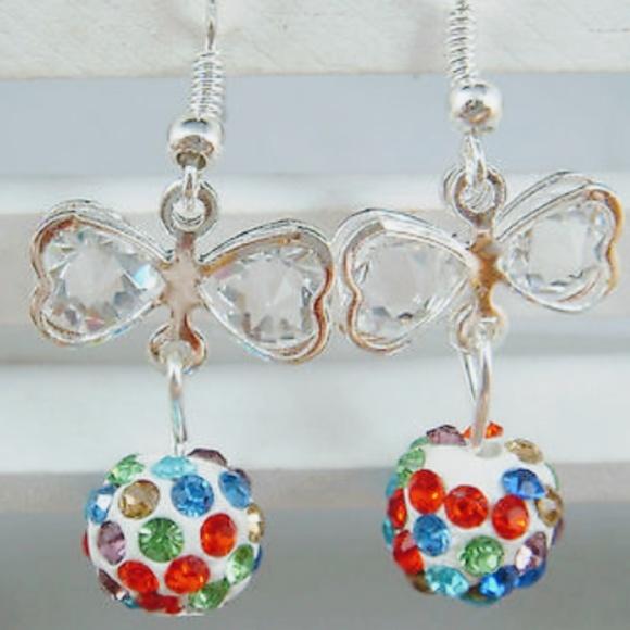 Jewelry - ⭐️ New Disco Ball Dangle Earrings